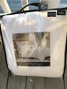 UGG Surfwashed 100% Cotton Garment Washed King Quilt