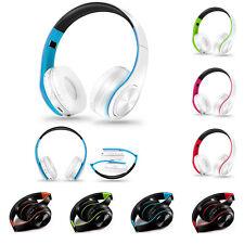 Wireless Bluetooth Foldable Headset Stereo Headphone Earphone for Phone Notebook