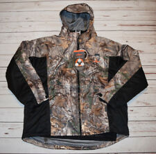 NWT HABIT Camo 3 in 1 All Weather Parka Jacket Real Tree Black Size Medium M $99