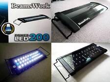 """Beamswork aquarium hi lumen LED 200 hang on light lamp 30-45 cm 11-17"""" nano fish"""