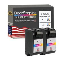 2 PK 41 Color Ink Cartridges for HP OfficeJet Pro 1150 1150c Deskjet 1100 1100C