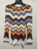MISSONI Blouse Shirt Top Size US 6 Italy 6