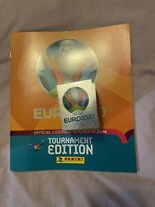 PANINI EURO 2020 TOURNAMENT EDITION FULL SET OF ALL 678 STICKERS + EMPTY ALBUM