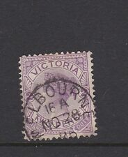 Victoria 2d definitive Fine Used cds MELBOURNE Used 1895