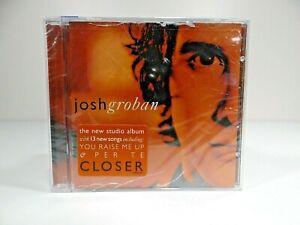 Closer by Josh Groban (CD, Feb-2004, Reprise)   *NEW* CRACKED*