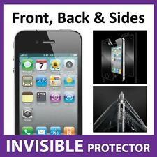 iPhone 4S FULL BODY Shield INVISIBLE Screen Protector - Military Grade