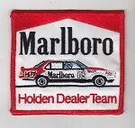 Peter Brock Torana embroidered cloth patch  --  80  x  80  mm  --  C020901