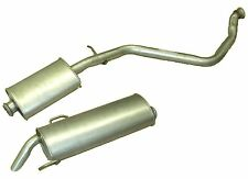 PEUGEOT 306 2.0HDI 99-02 EXHAUST CENTRE & REAR BACK BOX SILENCER 100% QUALITY