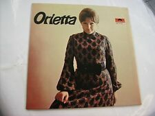 ORIETTA BERTI - ORIETTA - RARE LP VINYL 1971 EXCELLENT CONDITION