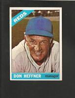 1966 Topps # 269 Don Heffner Ex-Mt