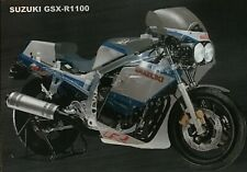 SUZUKI GSXR1100 H ( slabside ) slabby ( 1986 ) Factory cutaway poster