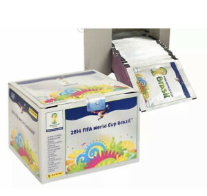 PANINI 2014 FIFA World Cup Brazil BOX~100Packs- INTERNATIONAL NOT SWISS VERSION