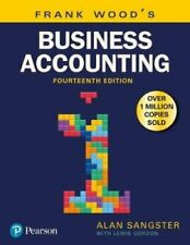 Frank Wood's Business Accounting Volume 1 by Alan Sangster 9781292208626