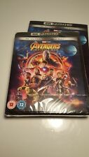 Avengers Infinity War 4k BluRay - NEW AND SEALED - Free and Fast Shipping!