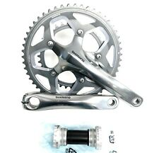 Shimano RS-500 11-Speed Mid-Compact Road Double Crankset 52-36t 170 mm New w/ BB