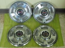 "1967 Chevrolet SS Hub Caps 14"" Set of 4 Chevy Hubcaps Chevelle Super Sport 67"