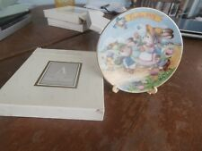 "avon collectible 1993 easter 5"" plate ""easter parade"""