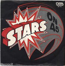 "STARS ON 45 - Omonimo - VINYL 7"" 45 LP ITALY 1981 NEAR  MINT COVER VG CONDITION"