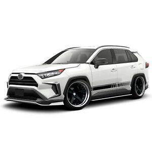 Racing Stripes For RAV4 TOYOTA Sport Trim Lip side wrap light carbon 2021 mirror