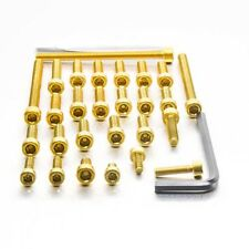 Pro-Bolt ALU Engine Bolt Kit - Gold EYA080G Yamaha RD250LC RD350LC All Years