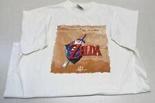 Vintage The Legend of Zelda Ocarina of Time 98 Kmart Promo TShirt Nintendo 64 XL