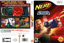 Nerf N-Strike Elite Nintendo Wii Game COMPLETE Fun Dart Gun Shooter Simulator