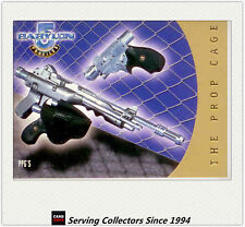 Babylon 5 Profile Trading Card THE PROP CAGE Subset PC2 PPG'S