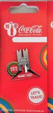 London 2012 Olimpiadi Coca Cola Landmark Abbazia di Westminster pin badge