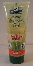 Aloe Pura Organic Aloe Vera Gel + Tea Tree 200ml
