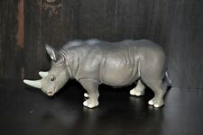 Retired Safari Ltd White Rhino Animal Toy Figure