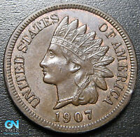 1907 Indian Head Cent Penny  --  MAKE US AN OFFER!  #G9002