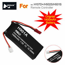 1xLipo Battery 1400mAh 7.4V For Hubsan H107D+/H502S/H501S Remote Controller FPV2