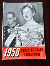 Danish Magazine.The events of 1958 told in pictures.Lana Turner.Toni Lander.
