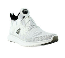 Reebok PUMP PLUS CAGE White/Black Athletic Sneakers Mens Athletic Shoes Size 9