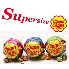 Big Chupa Chups Supersize Lollipop 5.9 inch x 15 Lollipop Chupa Chups Contained