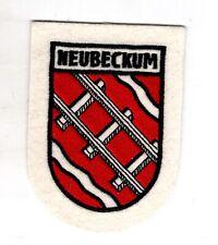Écusson Patch Armoiries Neubeckum Ortsteil De Ville Beckum Dans Cercle Warendorf