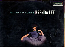 BRENDA LEE.ALL ALONE AM I.UK ORIG  LP + INN/CO/SL.VG/EX