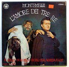 Montemezzi L'AMORE DEI TRE RE Richard Karp  2LP Classical MINT-  cla78