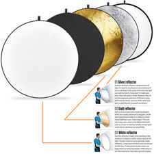 43 inch 110cm 5-in-1 Collapsible Studio  Light Photography Reflector with Bag