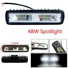 1Pcs 48W Car LED Work Light Bar Spotlight Beam Driving Fog Lamps 150 x 40 MM
