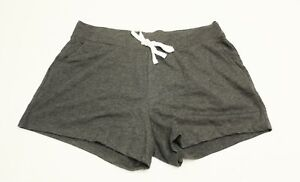 Old Navy Women's French Terry Drawstring Shorts CD4 Charcoal Large NWT