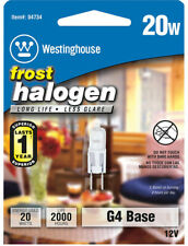 Westinghouse  20 watts T3  Halogen Bulb  290 lumens White  Decorative  1 pk