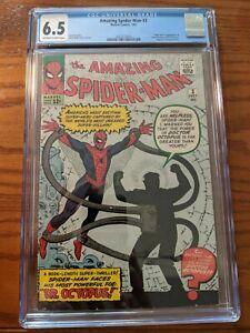 Amazing Spider-Man #3 CGC 6.5 1963 2025252003 1st app. Doctor Octopus