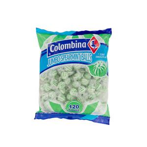 Colombina Jumbo Spearmint Balls 120 Pieces