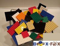 BF2001 - LEGO 25 Platten verschiedene Größen u. Farben Bauplatte Platte
