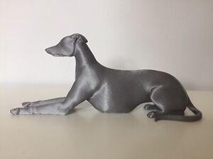 Large 3d Printed Greyhound Whippet Dog Figure Figurine OOAK Ornament