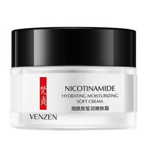 VENZEN Soft Cream Hydrating Nicotinamide Essence Cleanser Wrinkles Dry Oily Skin