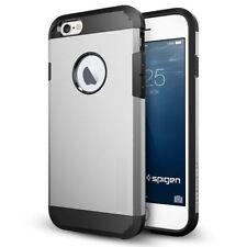 Housses et coques anti-chocs argenté métallique iPhone 6 pour téléphone mobile et assistant personnel (PDA)