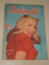 INTIMITA rivista 1 APRILE 1949 n. 162 storie vere confidenze di cuori ROMANZO