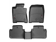 WeatherTech Floor Mats FloorLiner for Acura TL FWD - 2009-2014 - Full Set -Black